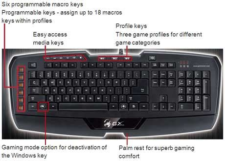 Keyboard Genius Imperator genius imperator pro keyboard introduced in india techgadgets