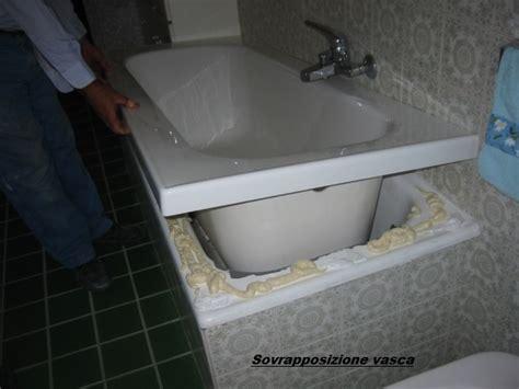 sovrapposizione vasche da bagno sovrapposizione vasca con vasca leroy merlin italia