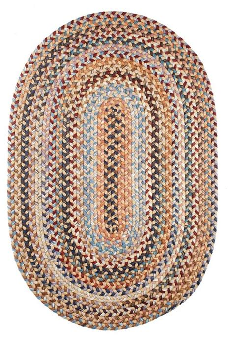 2 X4 Oval Small 2x4 Rug Wheat Field Beige Textured Small Braided Rugs
