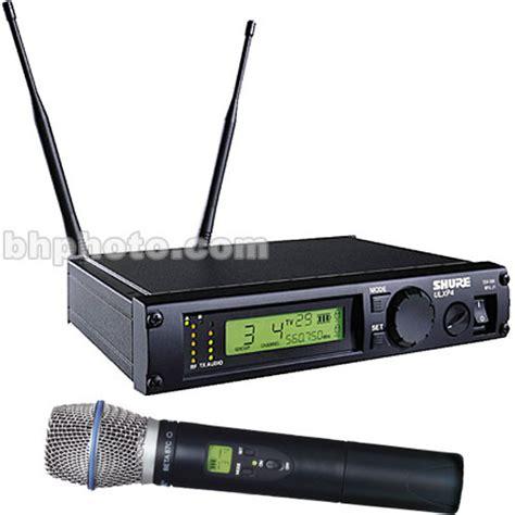 Wireless Microphone Shure Bisa Ubah Frequensi shure ulx professional series wireless ulxp24 beta87c j1 b h