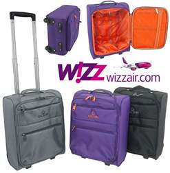 wizz air cabin luggage trolley bag lightweight