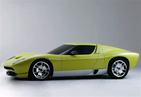 Lamborghini Miura Concept by 2006 Lamborghini Miura Concept Specifications Photo