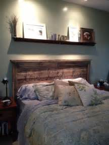 How To Make A Platform Bed Using Pallets by 40 Recycled Diy Pallet Headboard Ideas 99 Pallets