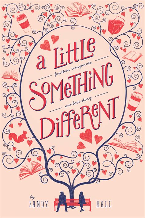 arc book review a little something different by sandy hall snuggly oranges