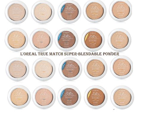 Loreal True Match Powder true match blendable powder ej store
