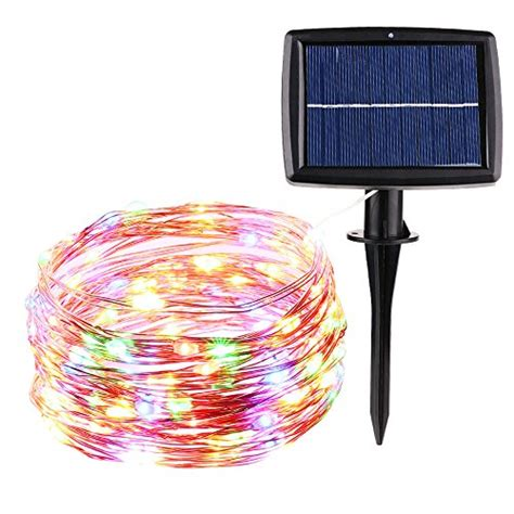 super bright christmas lights best icicle super bright solar christmas lights 33ft 100
