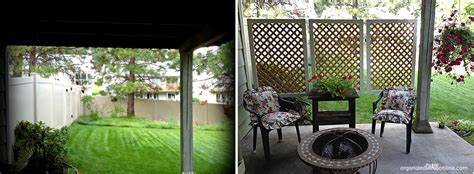 creating an outdoor patio how to customize your outdoor areas with privacy screens