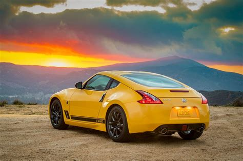 nissan z 2018 nissan 370z heritage edition keeps coupe alive