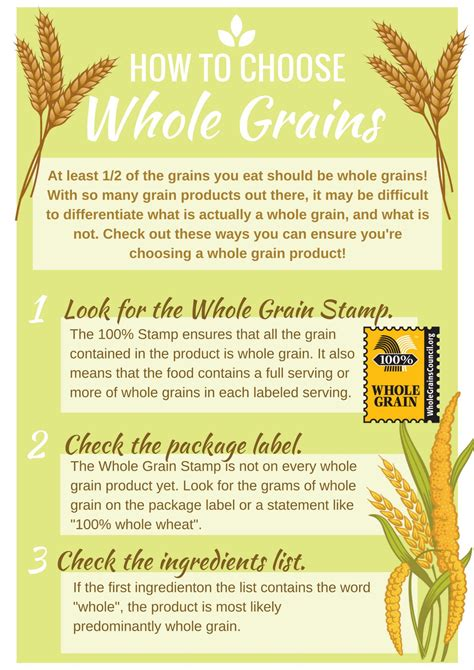 8 Tips How To Choose Tips For Choosing Whole Grains