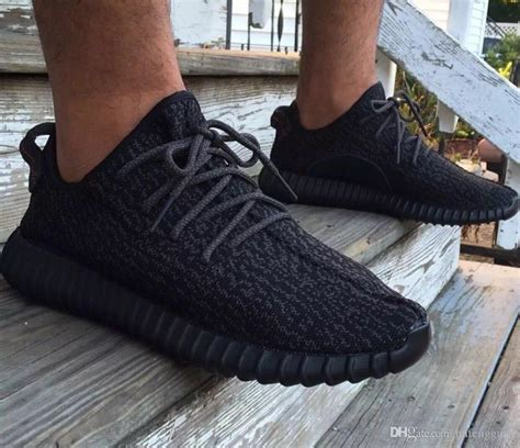 Sepatu Casual Adidas Yezzy Boost Sneaker 01 36 40 2015 newest low yeezy boost 350 black gray running shoes