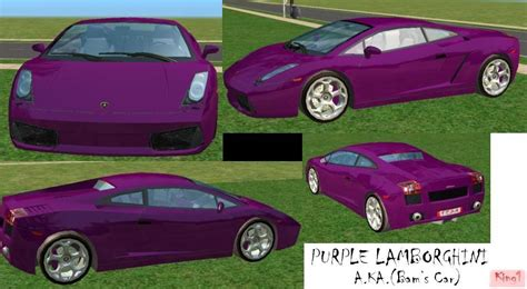 Bam Margera Purple Lamborghini Mod The Sims Bam Margera Set
