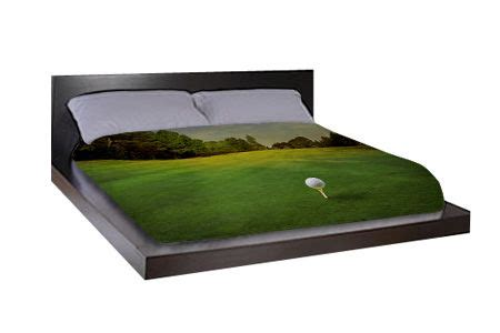 golf bedding golf bed sheets usholeinone golf home decor pinterest