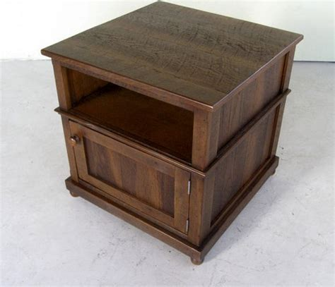 rustic pine small media cabinet for stereo ecustomfinishes