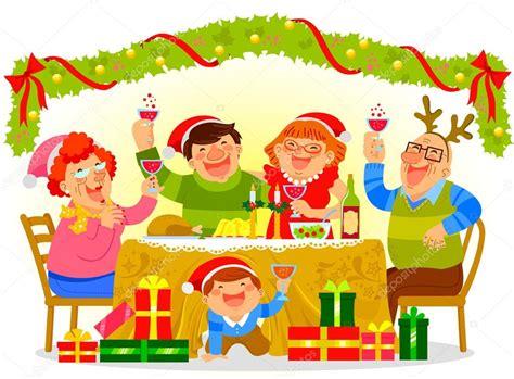 imagenes de navidad vectoriales familia celebrando la navidad archivo im 225 genes