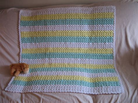 Crochet Baby Blanket Patterns For Beginners by Baby Blanket Crochet Patterns For Beginners Crochet And Knit