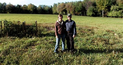 unity farm layout conserving farmland in central maine comes at a price