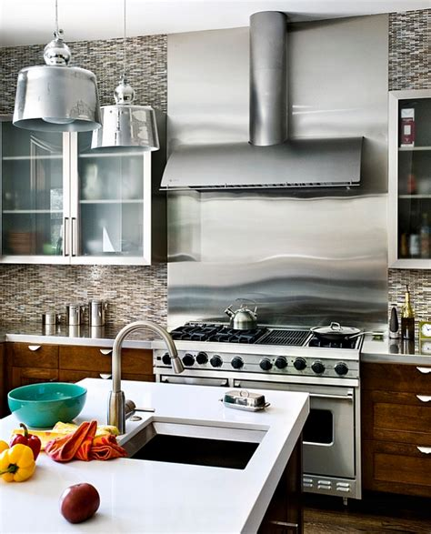 stainless steel kitchen backsplashes how to clean stainless steel for a sparkling kitchen