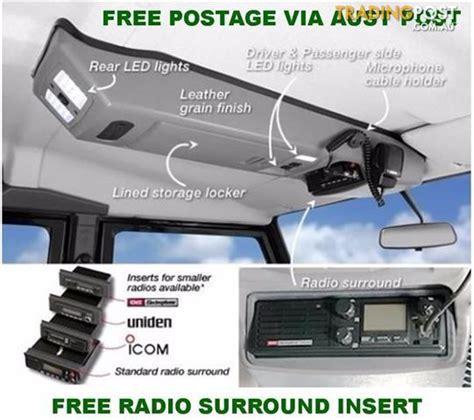 accessori console outback accessories roof consoles 4x4 mazda bt50 pk ranger