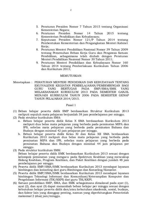 Peraturan Presiden R I No 4 Tahun 2015 Tentang Pengadaan Barang Jasa permendikbud no 4 tahun 2015 tentang ekuivalensi kegiatan pembelajaran