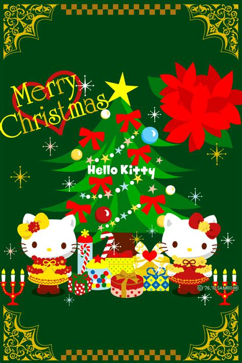 hello kitty christmas wallpaper free download free wallpapers for iphone 4 december 2011