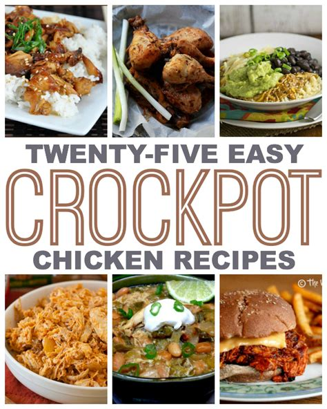 ten super simple crockpot chicken recipes this gal cooks