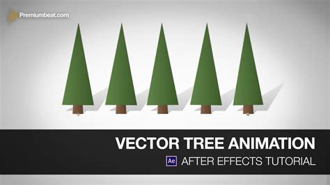 vector tree tutorial after effects tutorial vector trees youtube
