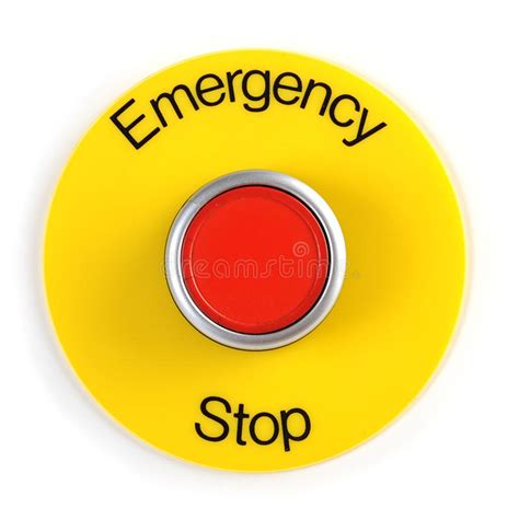 Emergency Detox St Cloud Mn by Emergency Stop Switch Stock Photo Image Of Machine