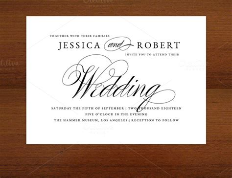 wedding invitation template 17 free psd vector eps