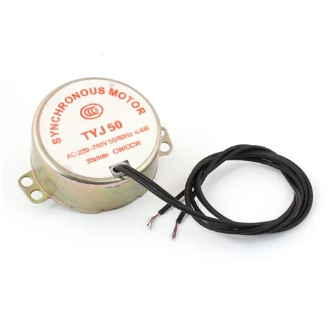 Motor Synchronous Ac 220 240v Type Ty J49 5 6rpm 4w Ccw Cw popular 1 watt motor buy cheap 1 watt motor lots from