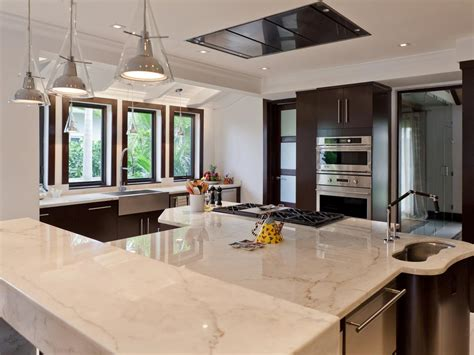 Marble Kitchen Countertops Pictures Ideas From Hgtv Hgtv Marble Kitchen Countertops