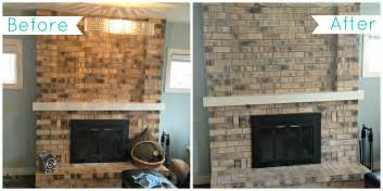 what color should i paint my brick fireplace painted brick fireplace before and after fireplace