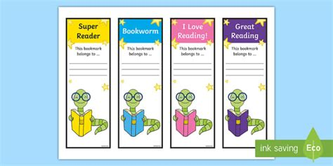 bookworm bookmark template bookworm bookmarks bookmarks reading read