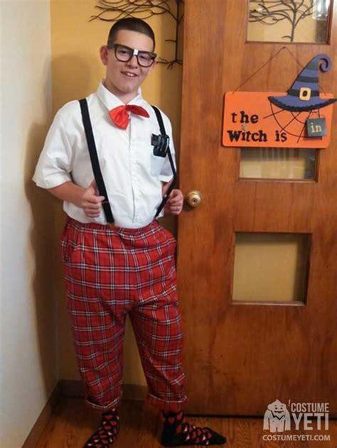 classic nerd costume costume yeti