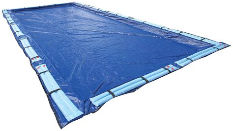 winter pool cover inground 16x32 rectangle arctic armor