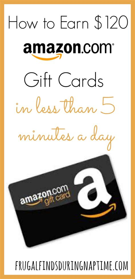 Amazon Gift Cards For Less - how i spend less than 5 minutes a day and earn 120 in amazon gift cards a year