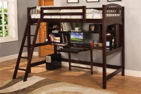 desk loft bed bedroom loft bed desk combo loftbeds twin loft bed with