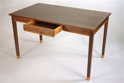 Handmade Desk - handmade black walnut and cherry writing desk by rugged