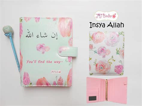 Jual Binder Pouch Pretty Multifungsi Dari Jj Binder aneka binder kulit cantik terbaru bertema islamic j j