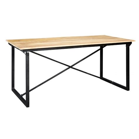 Industrial Dining Tables by Indian Hub Cosmo 6ft Industrial Dining Table Indian Hub