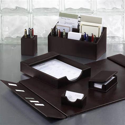 bomber jacket desk set  pieces leather desk accessories desk set   desk
