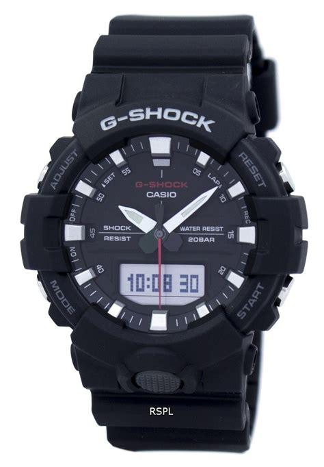 Casio G Shock Ga 110bw 1adr Water Resistance 200m Black Resin Band O casio g shock shock resistant analog digital ga 800 1adr ga800 1adr s downunderwatches