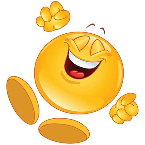 Cheerful Smiley Jumping For Joy Symbols Emoticons