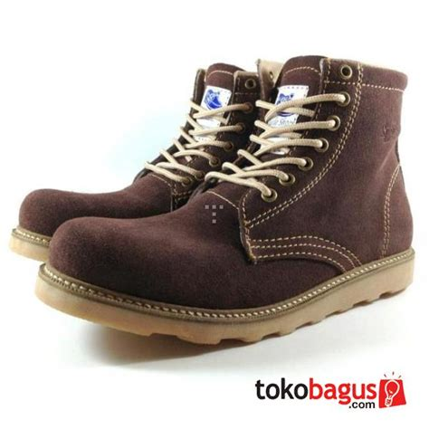 Sepatu Pria Kickes Pantofel Lipat Hitam Bahan Kulit boots casual suede dari kulit suede asli bergaransi sahrojulganjarsaputra1211020041