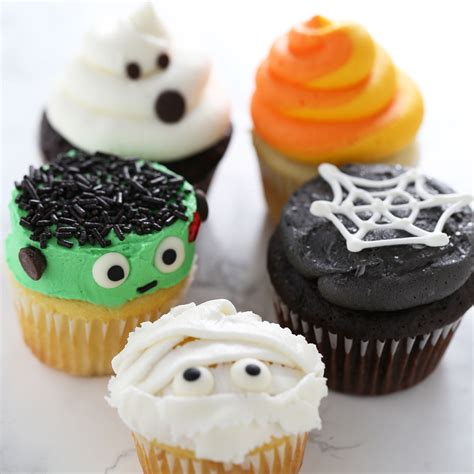 how to make halloween cupcakes handle the heat