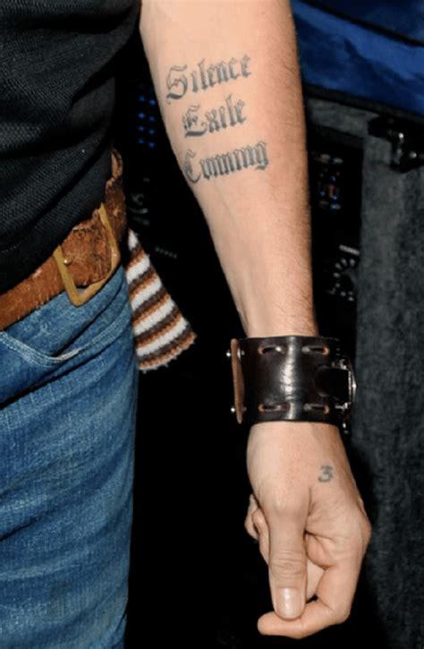 tattoo de johnny depp significado el significado de los tatuajes de johnny depp