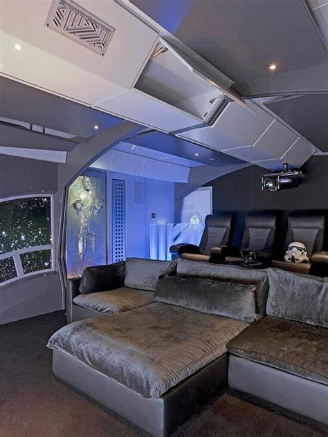 star wars themed room star wars themed home theater basement ideas pinterest