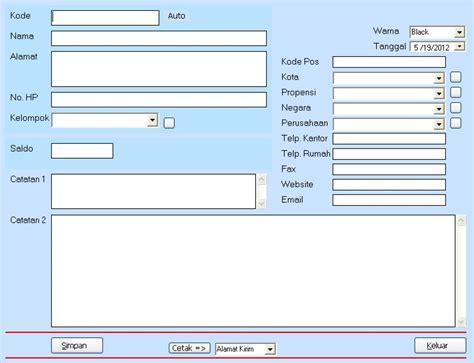 membuat database pelanggan dengan excel aplikasi database pelanggan sediasoftware com
