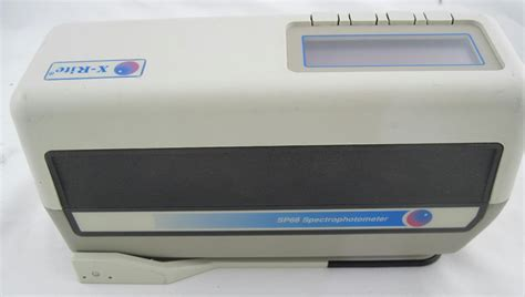 color spectrophotometer x rite color spectrophotometer sp62 ebay