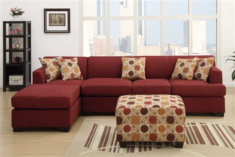 red microfiber sectional sofa with chaise red microfiber sofa chaise centerfieldbar com