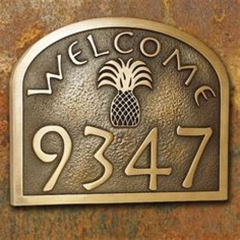 Address Plaque On Pinterest Address Signs Home Address Front Door Number Plaques